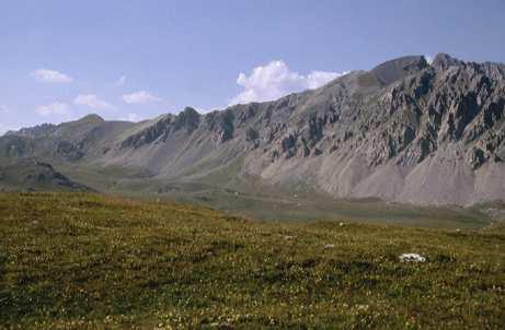 L'altopiano della Gardetta e il Monte Cassorso