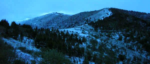 Colle della Ciabra a Roccabruna