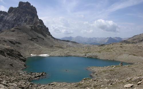 Brec de Chambeyron e Lac des Neuf Couleurs