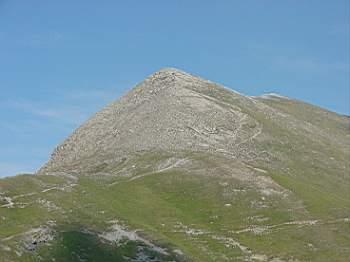 La cresta del Monte Tibert