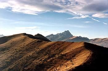 Tramonto da monte Roccerè (Foto Diego Garnero)