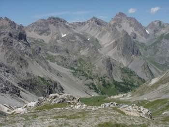 Panorama dal Passo della Gardetta