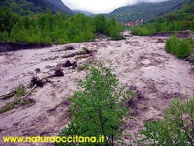 Alluvione Acceglio