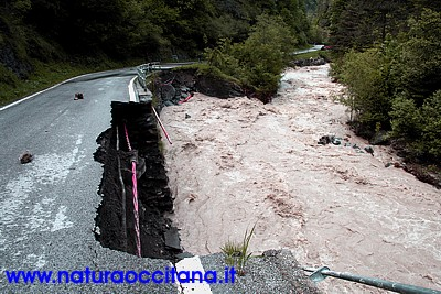 Alluvione a Canosio e Marmora