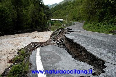 Alluvione a Canosio