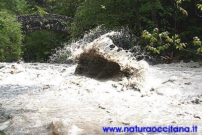 Alluvione in Valle Maira