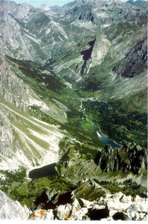 Alta Valle Maira dall'Auto Vallonasso (Foto di Francesco Canepa)