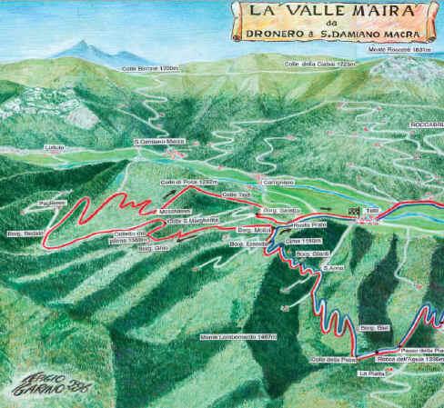 mappa mountain bike