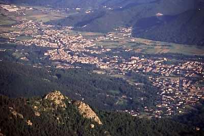 Dronero dal Monte Roccerè