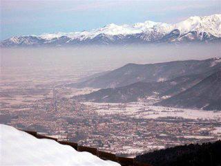Panorama invernale da Ferre