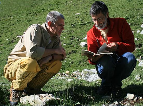 Prof. Michele Piazza e Prof. Heinz Furrer