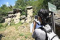Geoturismo in svolgimento