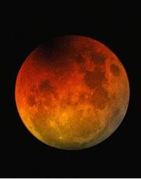 Eclisse totale di Luna 2007 Foto Enrico Collo