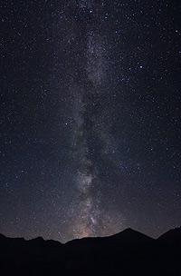 Via Lattea dalla Gardetta
