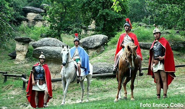 Soldati romani ai Ciciu di Villar