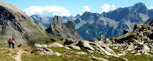 Torre Castello e Provenzale dal Col Maurin