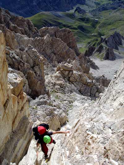 Ferrata degli alpini sull'Oronaye