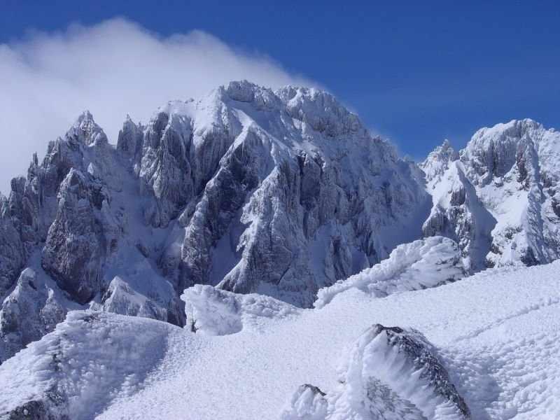 Monte Oronaye dall'Auto Vallonasso