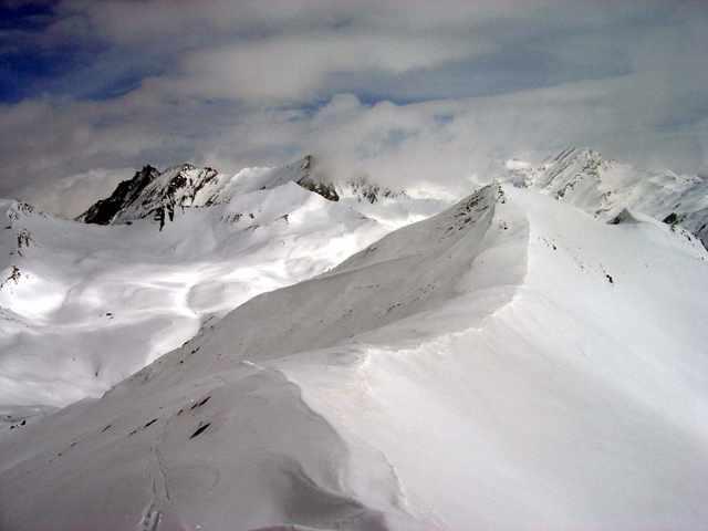 La cresta del Monte Bellino