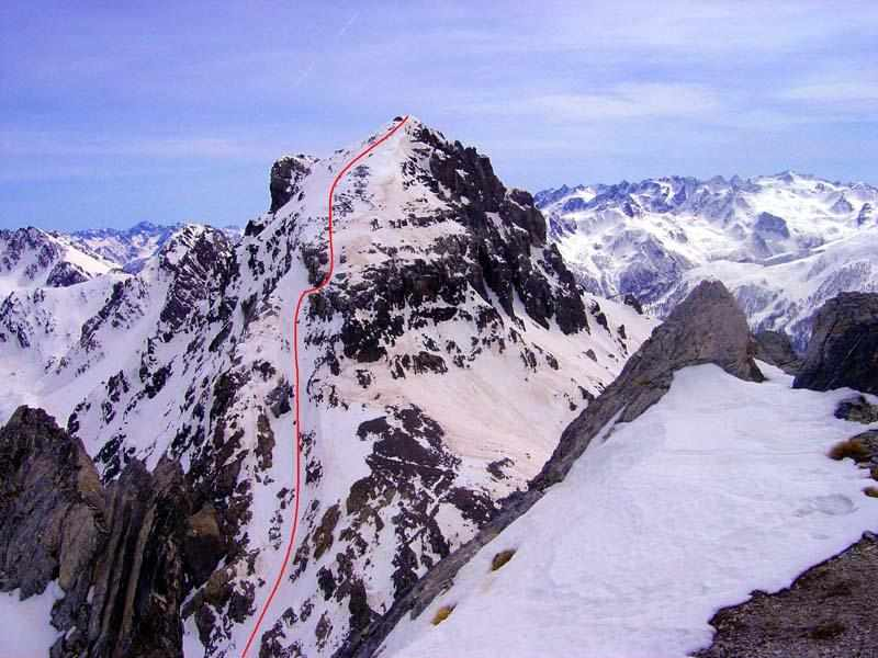 L'itinerario verticale del Monte Scaletta